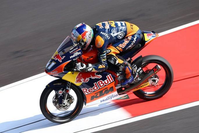 Moto3 Sepang, FP3: Binder è il più veloce, Bagnaia è terzo