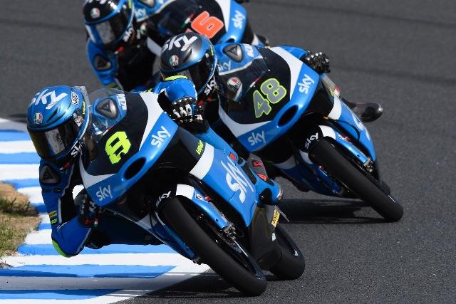 Moto3 Motegi: Inzia con il piede giusto il team Sky VR46 con due piloti in piena top 10