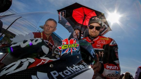 Superbike Losail: Chaz Davies punta al secondo posto in campionato