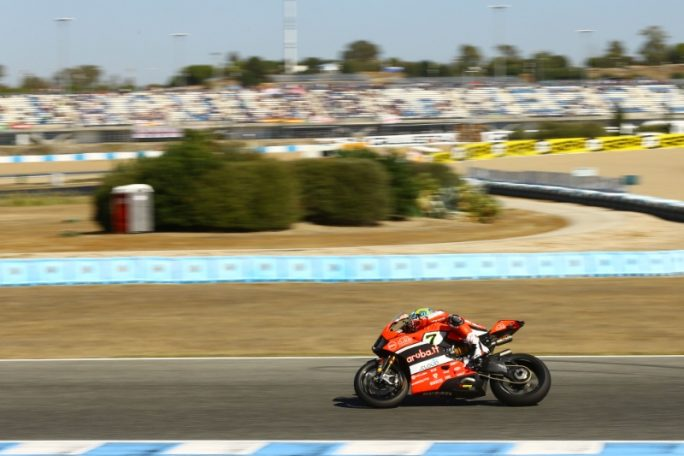 Superbike Jerez, Gara 2: Chaz Davies completa una strepitosa doppietta
