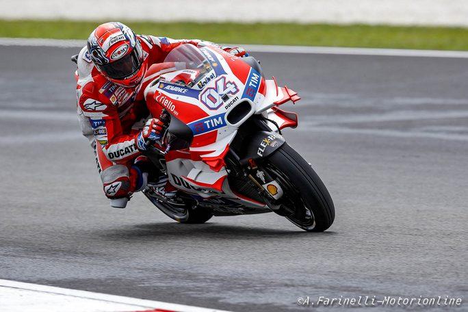 Moto GP, Sepang: Dovizioso show. Secondo Valentino, poi Lorenzo