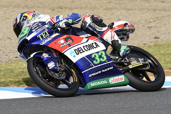 """Moto3 Motegi: Enea Bastianini """"Siamo partiti con il piede giusto, ma continuiamo a lavorare così"""""""