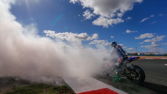 Superbike Magny-Cours, Gara 2: Guintoli chiude nella top ten