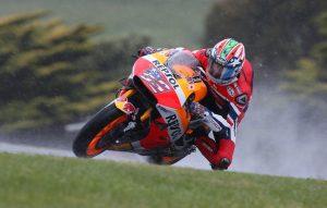 """MotoGP Phillip Island: Nicky Hayden """"Il feeling con la moto è buono, peccato per questa pioggia"""""""