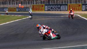Superbike Magny-Cours, Gara 2: Top ten per il team Honda