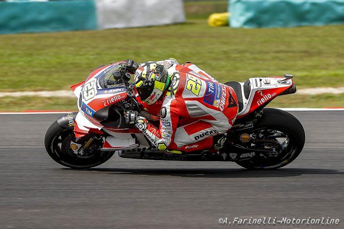 MotoGp, Iannone preoccupato:
