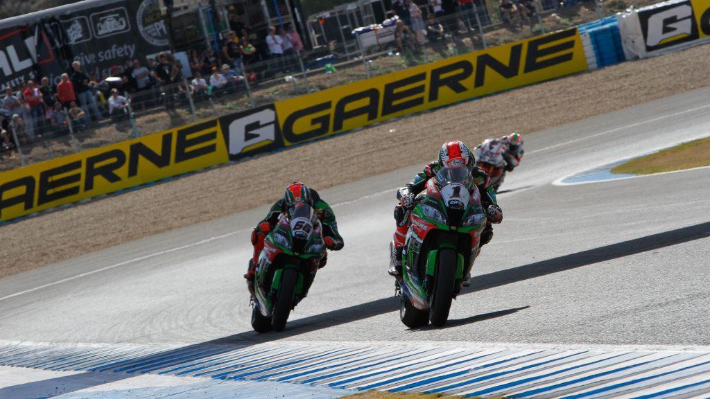 Superbike Jerez, Gara 2: Rea e Sykes proseguono la lotta per il titolo