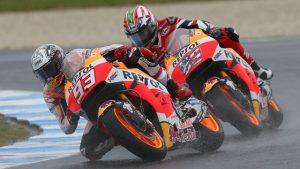 "MotoGP Phillip Island: Marc Marquez ""Peccato per la pioggia, oggi volevamo divertirci un pò"""