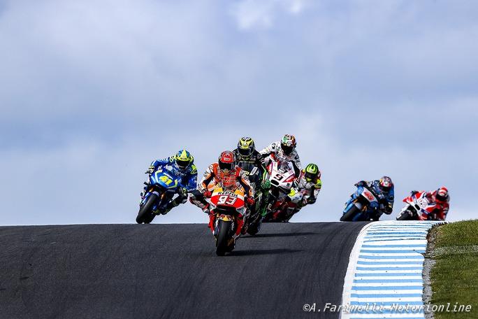 """MotoGP: Marc Marquez, """"Phillip Island servirà da lezione, non vedo l'ora di girare a Sepang"""""""