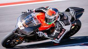 Superbike: Marco Melandri in pista a Valencia