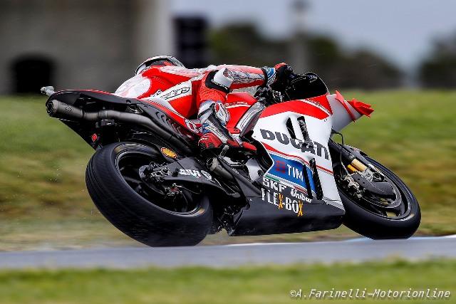 """MotoGP Phillip Island: Andrea Dovizioso """"Bloccato da un problema di pressione alla gomma posteriore, che peccato!"""""""