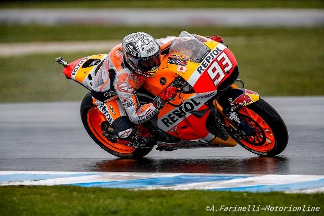 """MotoGP Phillip Island: Marc Marquez """"Ottimo lavoro fino ad oggi e domani voglio vincere"""""""
