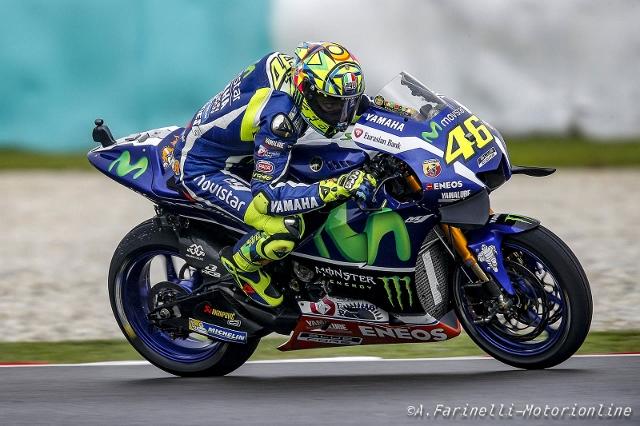 """MotoGP Sepang: Valentino Rossi """"Gara spettacolare, in una curva ne ho passati 2, Lorenzo e Marquez"""""""