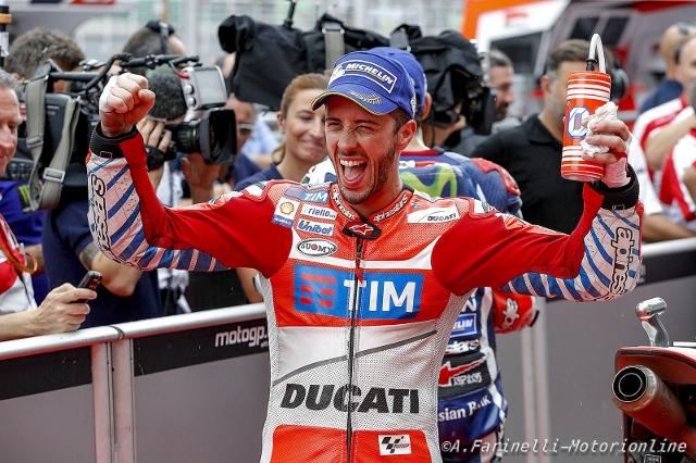 MOTOGP. Gp Malesia: Pole per Dovizioso davanti a Rossi e Lorenzo
