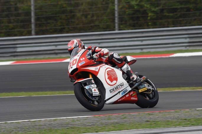 Moto2 Sepang, FP3: Nakagami prima della pioggia, bene Morbidelli
