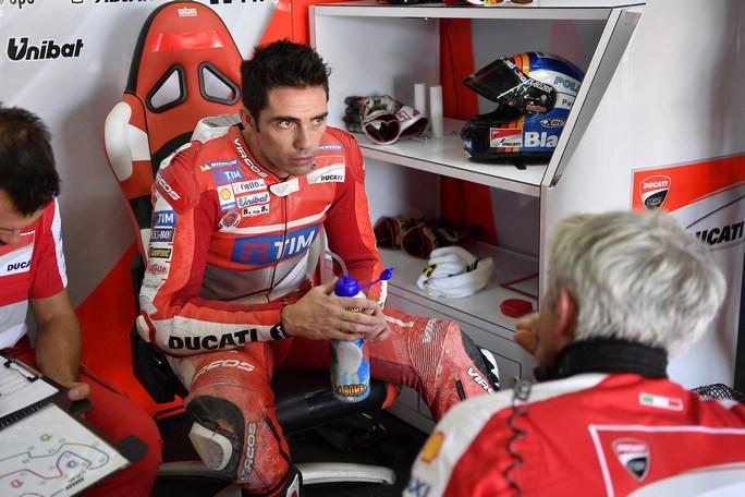 MotoGP: Michele Pirro a Valencia con la Ducati GP17