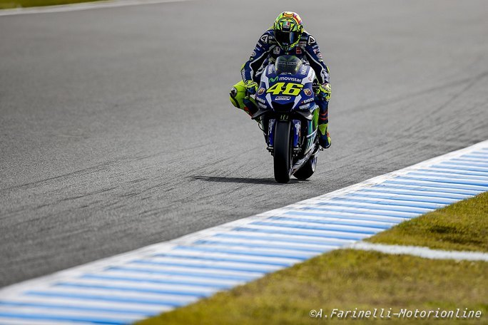 MotoGP: Rossi, fantastica pole a Motegi, battuti Marquez e Lorenzo