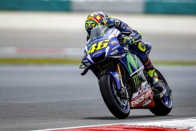 """MotoGP Sepang: Valentino Rossi, """"Sono molto contento della mia qualifica"""""""