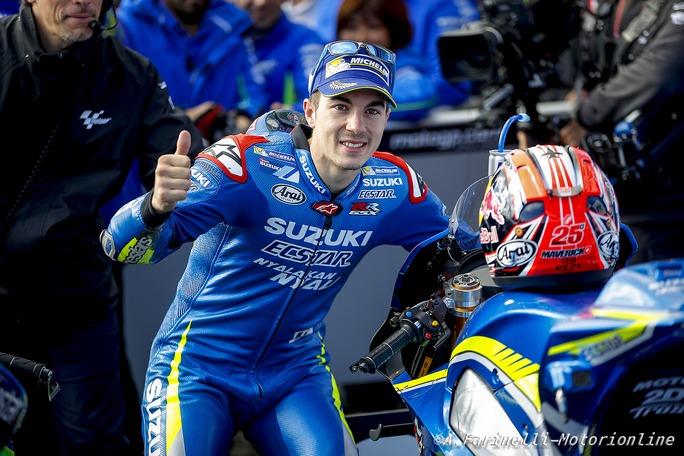 MotoGP Phillip Island: Suzuki, un podio che toglie i privilegi