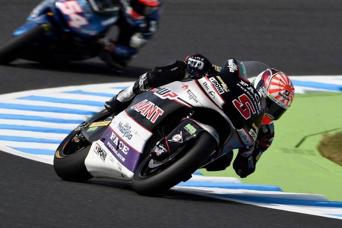 Moto2 Motegi Gara Vince Luthi, Morbidelli sul podio