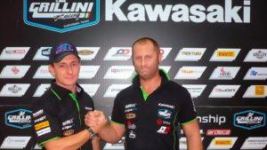 Superbike: Ayrton Badovini correrà con il Team Grillini Kawasaki