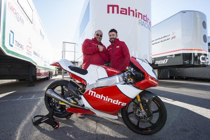 Moto3: Mahindra annuncia accordo con Max Biaggi