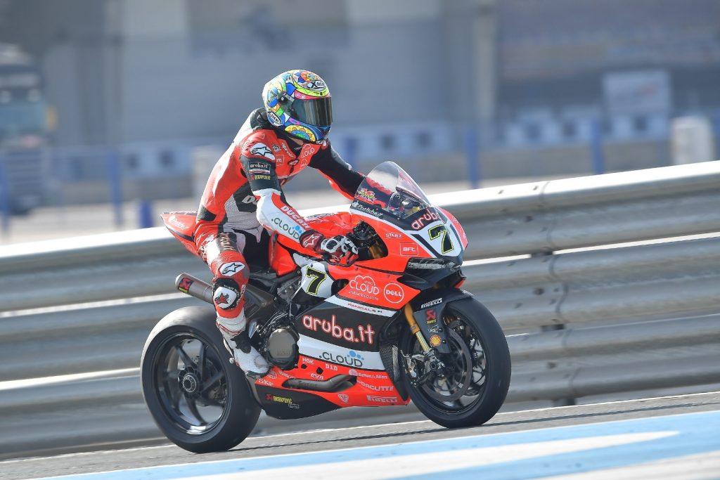 Superbike Test Jerez: lavoro terminato per il Team Aruba Racing Ducati