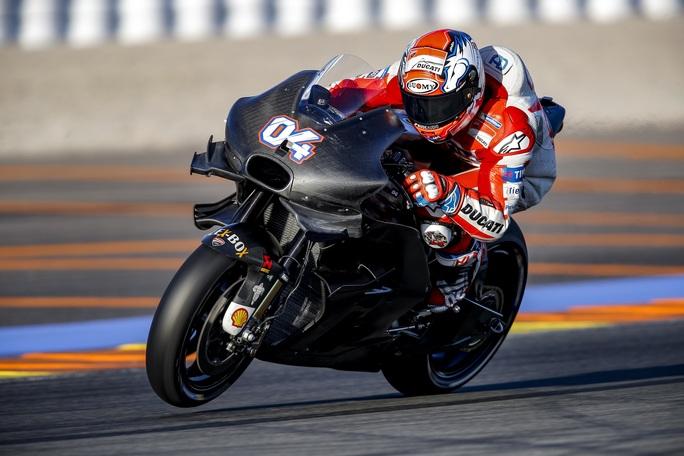 """MotoGP Test Valencia Day 1: Andrea Dovizioso, """"Prima impressione positiva"""""""
