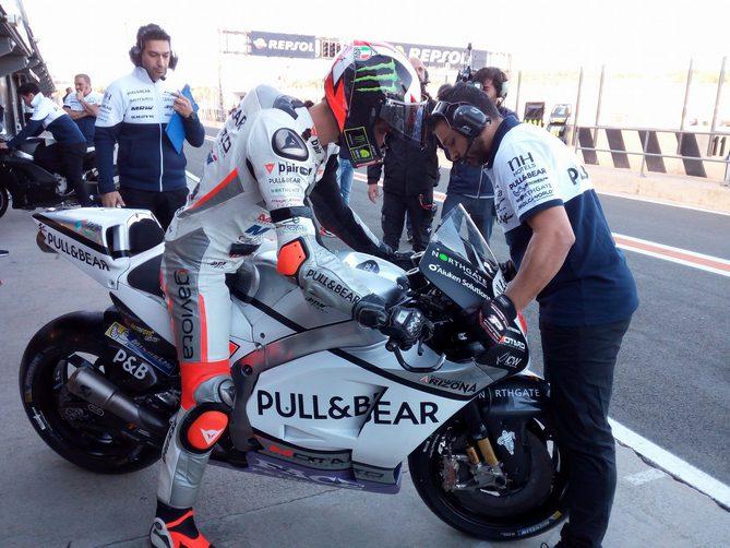 """Test Valencia: Bagnaia, """"La MotoGP è impressionante"""""""