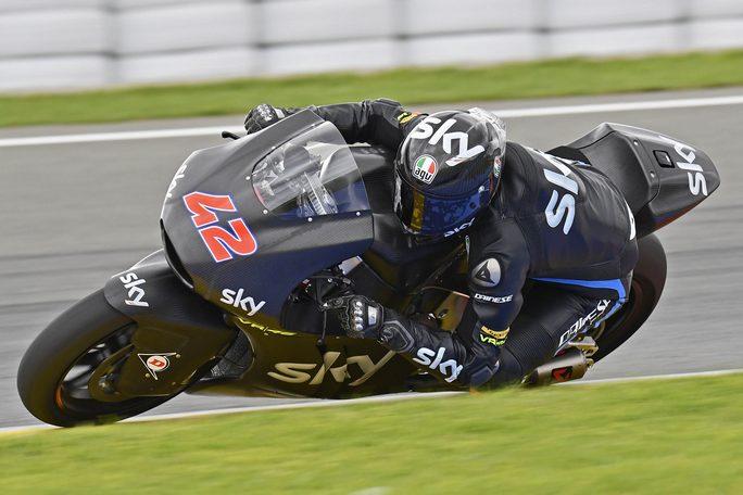 """Moto2: Francesco Bagnaia, """"Sono molto soddisfatto dei primi test"""""""