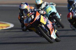 Moto3 Valencia, Warm Up: Binder al comando, bene Bagnaia e Bastianini