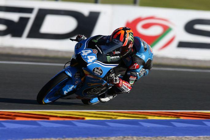 Moto3 Valencia: La pole va a Canet, seconda fila per Bulega e Antonelli