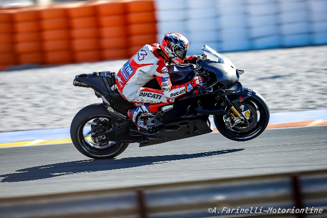 MotoGP Test Valencia Day 2 – 15:00: Dovizioso in testa a due ore dal termine del test