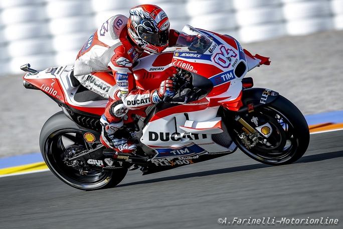 MotoGP Valencia: Andrea Dovizioso da i voti a Ducati, Michelin e alla sua stagione