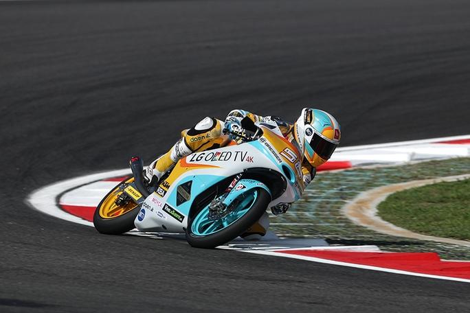 Moto3 Valencia, FP1: Guevara al Top, Locatelli è sesto