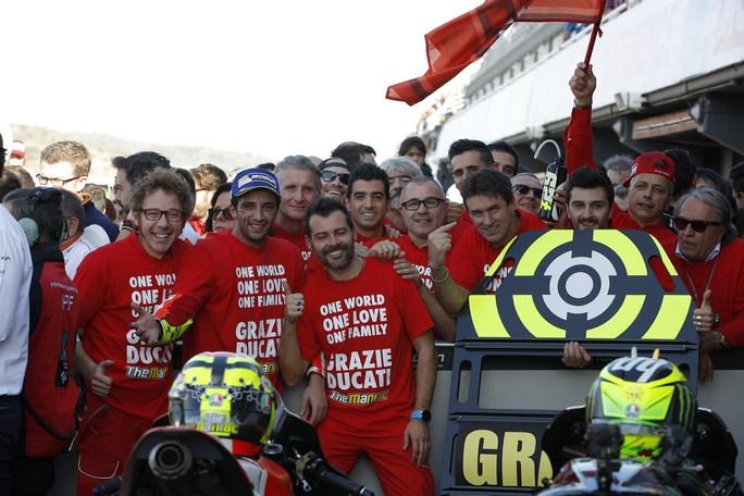 """MotoGP Valencia: Iannone, """"A Lorenzo lascio una Ducati competitiva"""""""