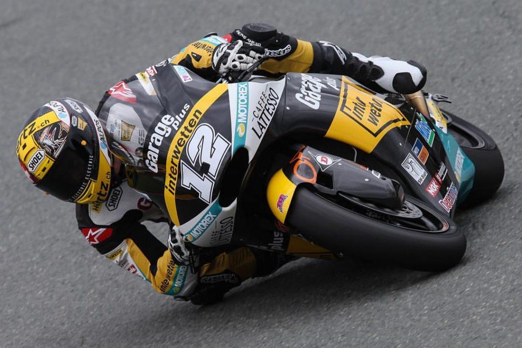 Moto2 Valencia, FP1: Luthi è il più veloce, seguono Corsi e Folger