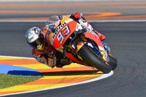 "MotoGP Valencia: Marc Marquez ""La moto va bene, ma perdo su Jorge nel T4"""
