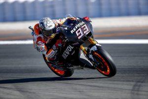 """MotoGP Test Valencia: Marc Marquez """"Abbiamo trovato diverse soluzioni interessanti"""""""
