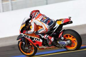 MotoGP Valencia, Warm Up: Marquez al Top, Dovizioso è terzo, Rossi sesto
