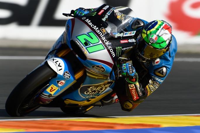 Moto2 Valencia, Warm Up: Morbidelli è il più veloce