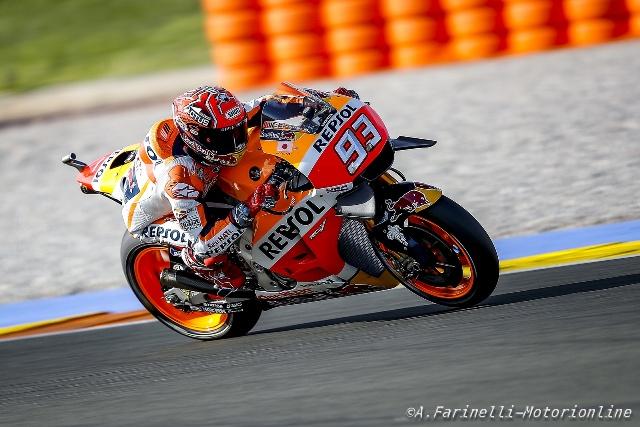 """MotoGP Valencia: Marc Marquez """"Mi è mancato qualche giro per riprendere Lorenzo"""""""