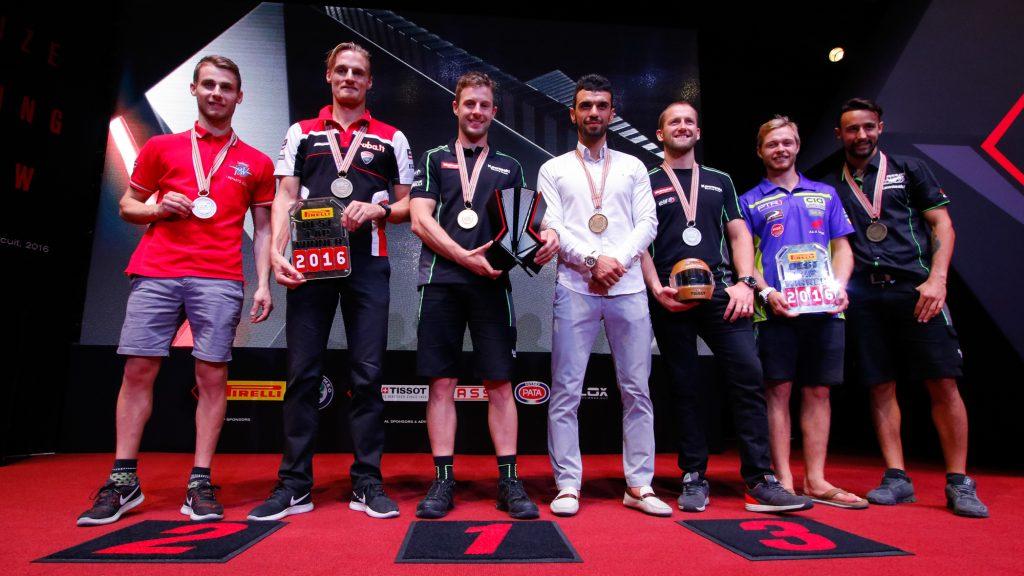 Superbike: Losail celebra i Campioni 2016