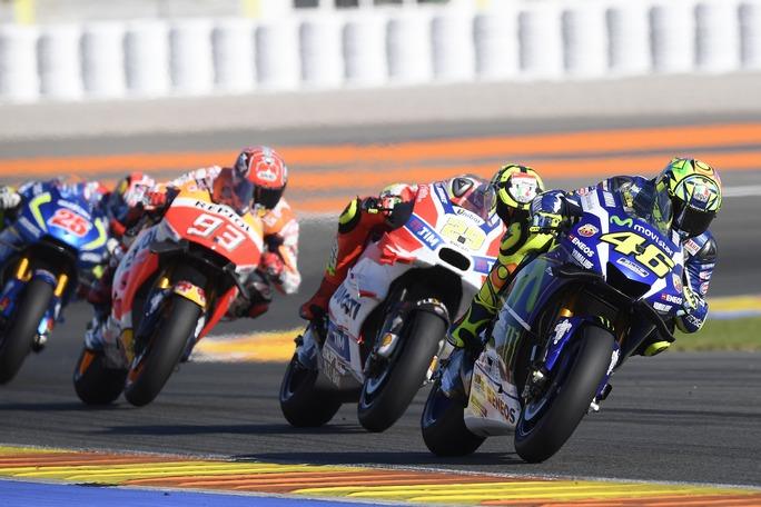 MotoGp, test Valencia: Vinales al comando a fine giornata, 2° Rossi