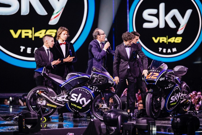 Svelate a X Factor le livree 2017 dello Sky Racing Team VR46