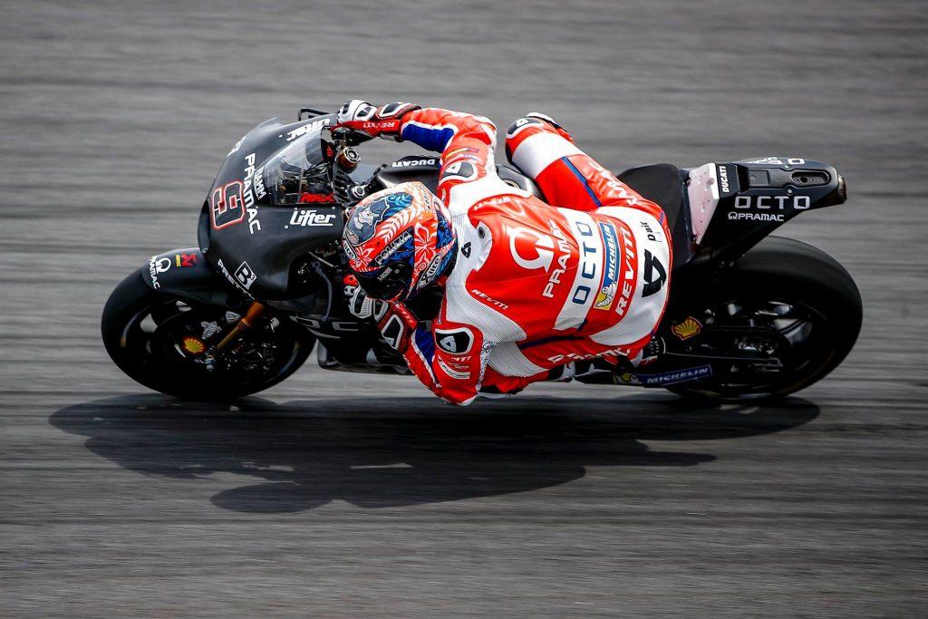 Moto GP, ottimo Iannone. Rossi in pista con le alette