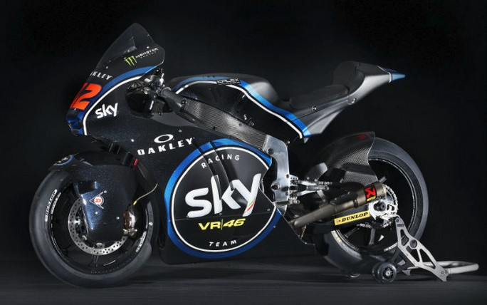 Moto2: lo Sky Racing Team VR46 in sella alla Kalex nel 2017