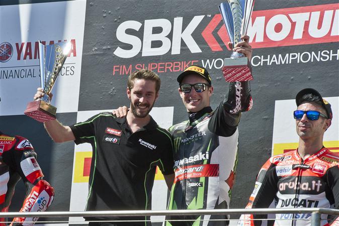 Superbike, Round Phillip Island, Gara 2: il Kawasaki Racing Team si riprende la vittoria