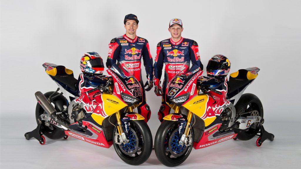 Svelato il Red Bull Honda World Superbike Team
