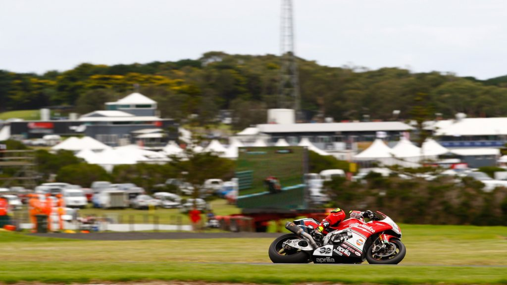 Superbike, Round Phillip Island, FP: Miglioramenti per Lorenzo Savadori